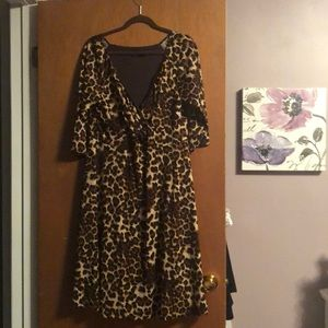 Igigi stunning leopard dress